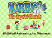 Kirby64 title