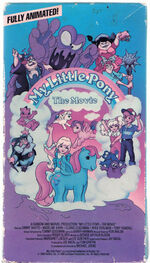 My Little Pony The Movie 1986 VHS