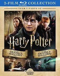 Harry Potter Year 7 Parts 1 & 2 2018 Blu-ray