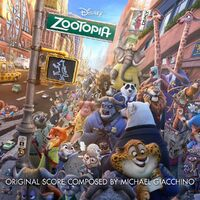 Zootopia Soundtrack CD