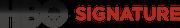 HBO Signature new logo