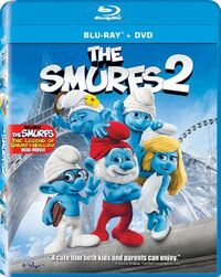 Smurfs2 bluray