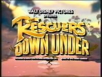 The Rescuers Down Under (1991)