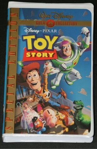 Toy Story (VHS/DVD) | ...A Christmas Story Vhs 1996