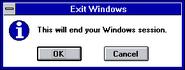 Windows31 shutdown