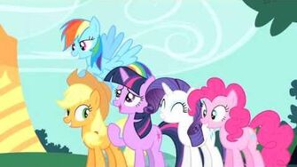 MY LITTLE PONY FRIENDSHIP IS MAGIC - The Best Night Ever - Clip