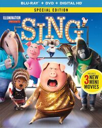 Sing bluray