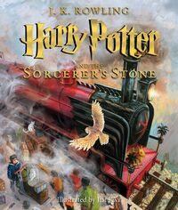 Harry Potter and the Sorcerer's Stone (Illustrated)