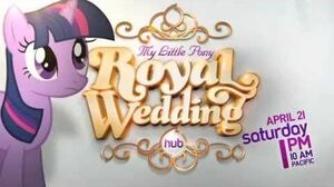 My Little Pony Friendship is Magic - The Royal Wedding (Promo) - The Hub