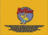 Arthur 2004 End Title Card