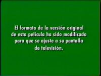 Green Full Screen Disclaimer (Spanish)