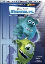 Monstersinc dvd