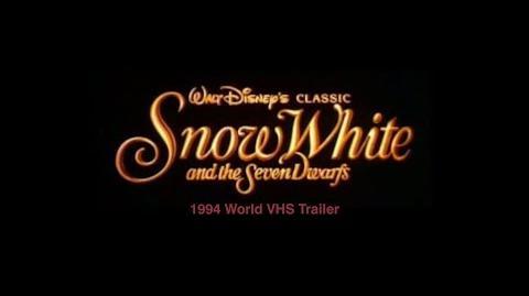 Snow White and the Seven Dwarfs VHS Trailer (1994, World)