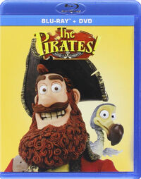 The Pirates! Band of Misfits 2015 Blu-ray