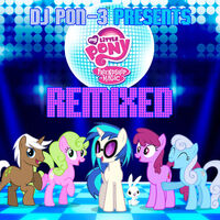 Friendship is Magic Remixed album cover