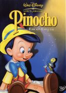 Pinocchio DVD Front Cover (Spanish)