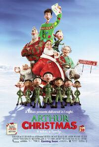 Arthurchristmas poster