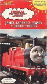 JamesLearnsALesson 1993VHS