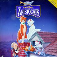 Aristocats laserdisc