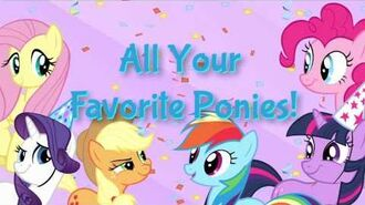 MY LITTLE PONY Party of One app for iPad, iPhone, and iPod Touch!