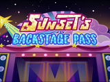 My Little Pony: Equestria Girls: Sunset's Backstage Pass