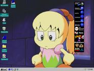 Windows95c desktop