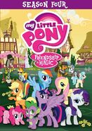 My Little Pony: Friendship is Magic: Season Four (DVD)