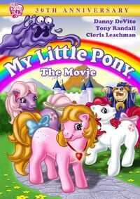 My Little Pony The Movie 2015 DVD
