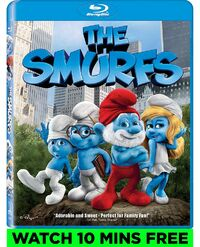 Smurfs bluray