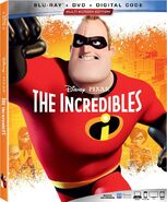 The Incredibles 2019 Blu-ray