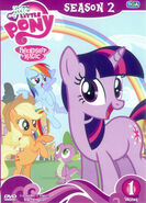 My Little Pony Season 2 Vol. 1 Thai DVD