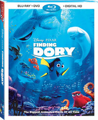 Findingdory bluray