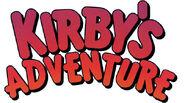 Kirbysadventure logo