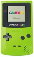 Gameboycolor console