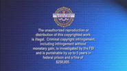 USA Warning Screen (2005)