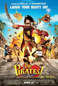 Piratesbandofmisfits poster