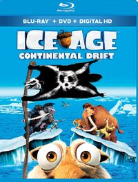 Ice Age Continental Drift 2015 Blu-ray