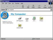 Windows95c explorer