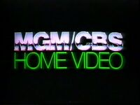 MGM-CBS Home Video (1981)