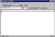 Windows95 wordpad