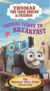 Thomas Comes to Breakfast and Other Thomas Adventures (VHS/DVD)