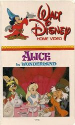 1981 Alice in Wonderland VHS