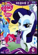 My Little Pony Season 2 Vol. 6 Thai DVD
