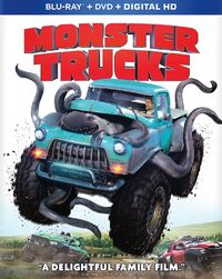 Monstertrucks bluray