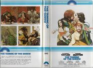 ''The Taming of the Shrew'' (1967 film) 1979 VHS cover