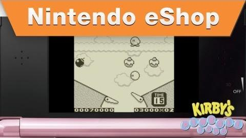 Nintendo eShop - Kirby's Pinball Land Trailer (2012)