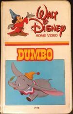 1981 Dumbo VHS