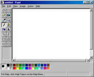 Windows98 paint