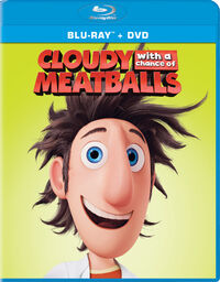 Cloudy with a Chance of Meatballs 2015 Blu-ray