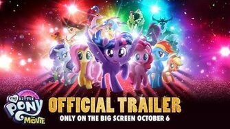 My Little Pony The Movie (2017) Official Trailer – Emily Blunt, Sia, Zoe Saldana – In Theaters 10 6